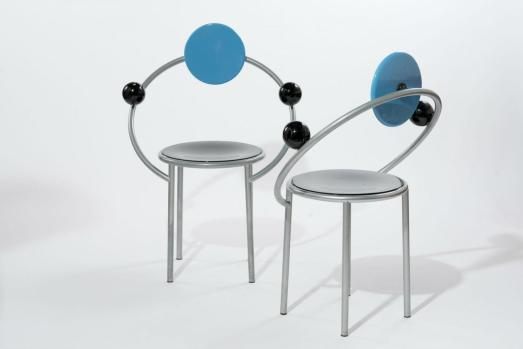 Fist Chair by Michele De Lucchi para Memphis