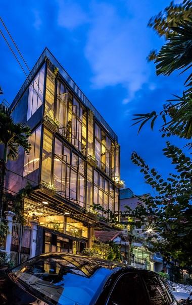 Serene House HCMC. Foto: Hiroyuki Oki
