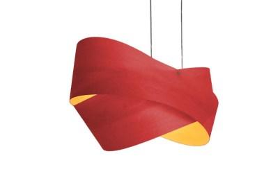 Blume dos lámparas roja de Traum