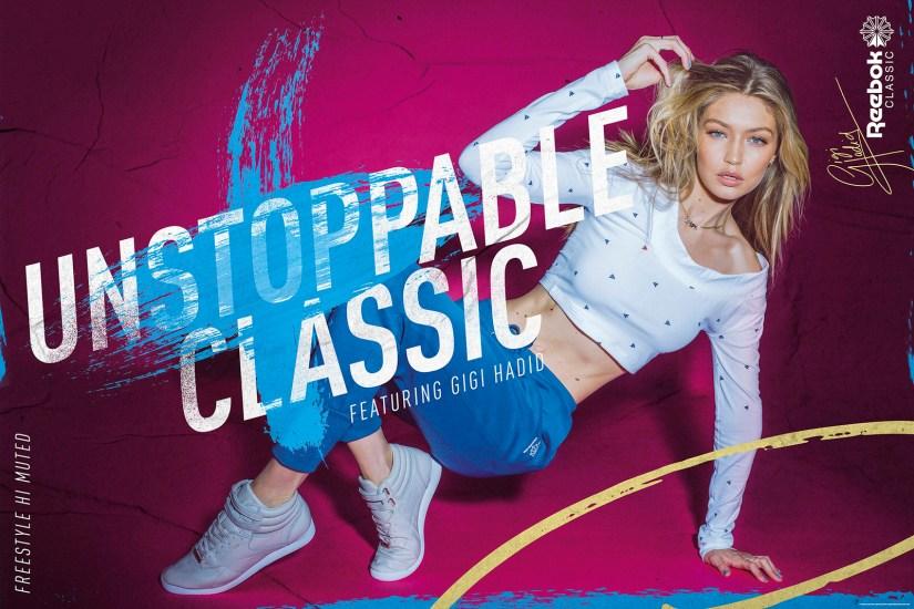 Gigi Hadid. Unstoppable Classic