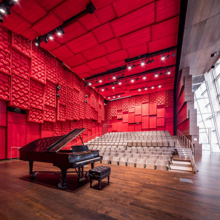 Voxman Music Building. Foto: Tim Griffith