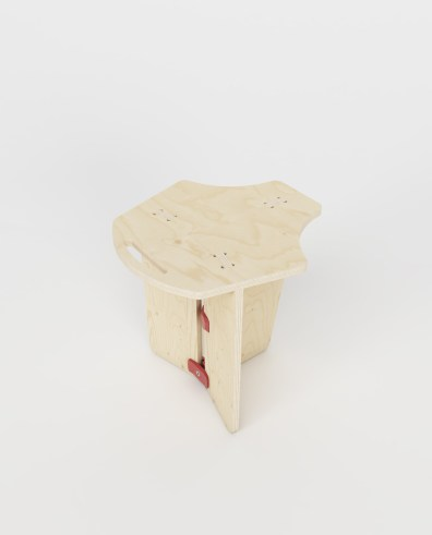 Bil stool - Playwood