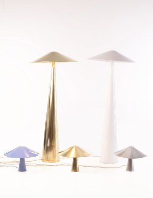 Lebone lamps de Inés Bressand para Mabeo Furniture