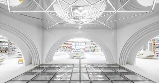 Librería Zhongshu de Xi'an by Wutopia Lab. Foto: CreatAR Images