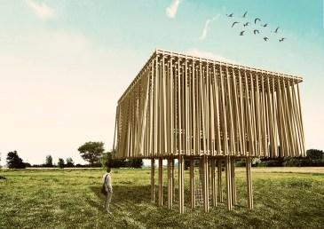 Hello Wood - Hojarasca Proyecto