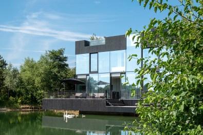 Glass Villa de Mecanoo Architecten. Foto: Blue Sky Images