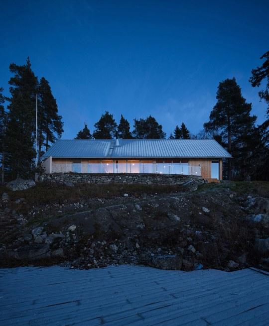 Hus Nilsson de Tina Bergman. Foto: Peter Guthrie
