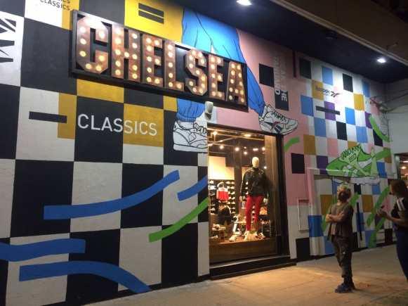 Mural Reebok Classic - Chelsea Floreencio Varela