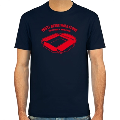 Spielraum - Anfield Road T-shirt - Navy