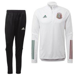 adidas Mexico Top Trainingspak 2020-2021 Wit Zwart