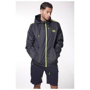 My Brand S3 Sport Windjacket Navy/Neon Green