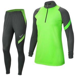 Nike Academy Pro Trainingspak Vrouwen Groen Grijs