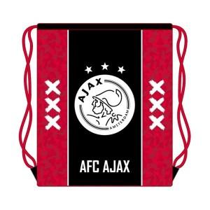 Ajax gymtasje unisex zwart/rood