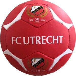 FC UTRECHT VOETBAL - Jubileum Voetbal - 50 jaar - Rood - OPGEPOMPT