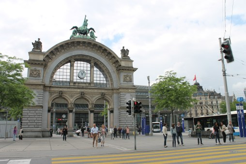 Lucerne train station. There is something about train stations which helps me uniquely identify a city.