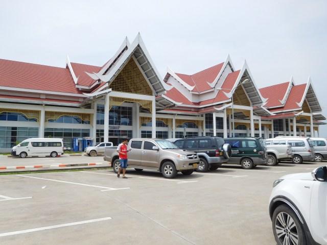 The new airport at Luang Prabang