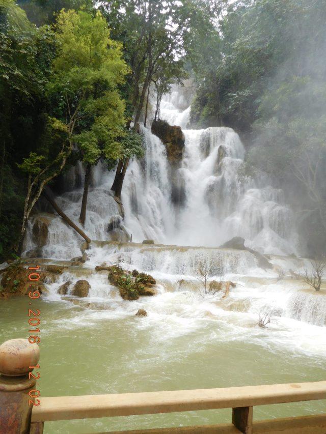 The main waterfall