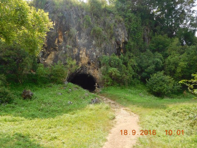 The cave that was used as a bomb shelter and unfortunately 250+ people died as the bomb exploded inside