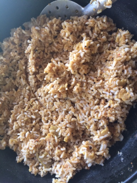 jimikand-rice