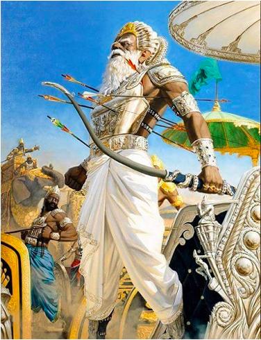 Thinking Of Bhishma Pitamah 90rollsroyces