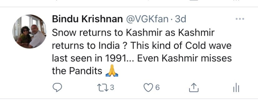 Jan 19 - Exodus Kashmiri Pandits