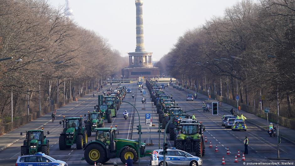 No farmers - Berlin Farmers protest