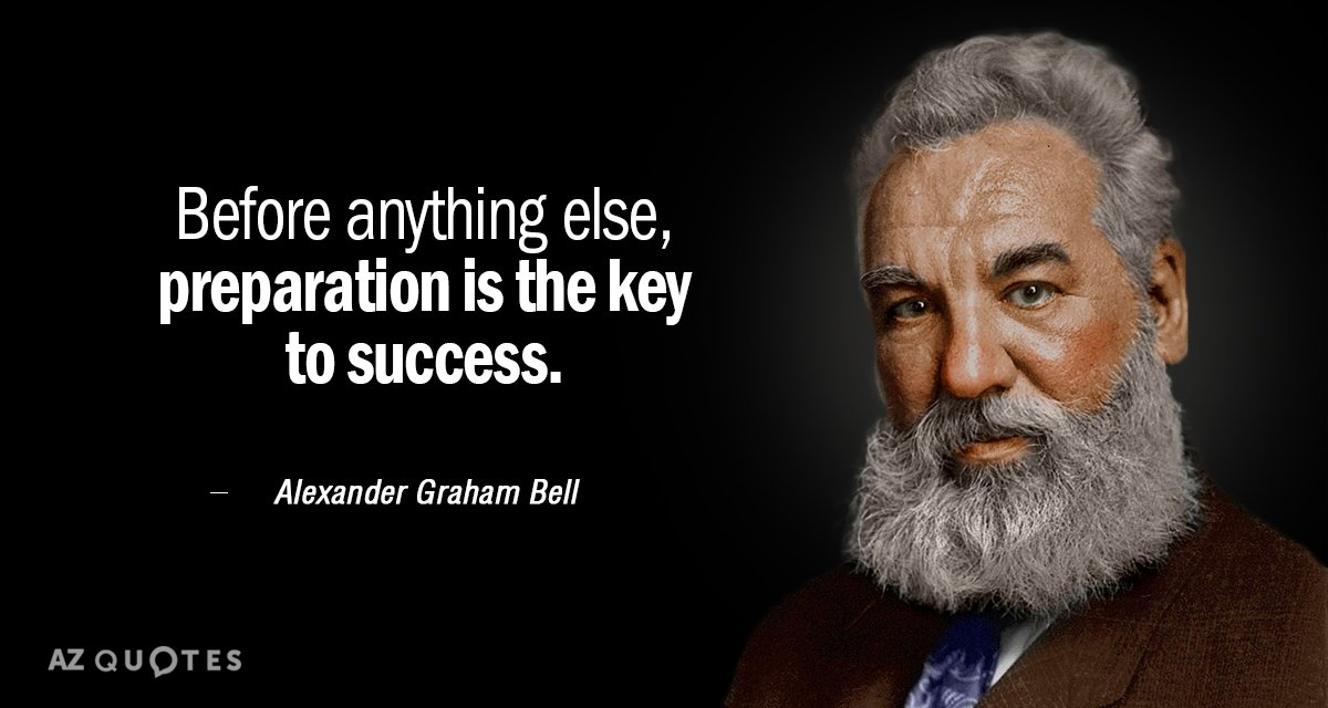 Prepared - Graham Bell