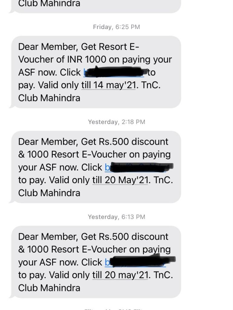 Customers Incentive