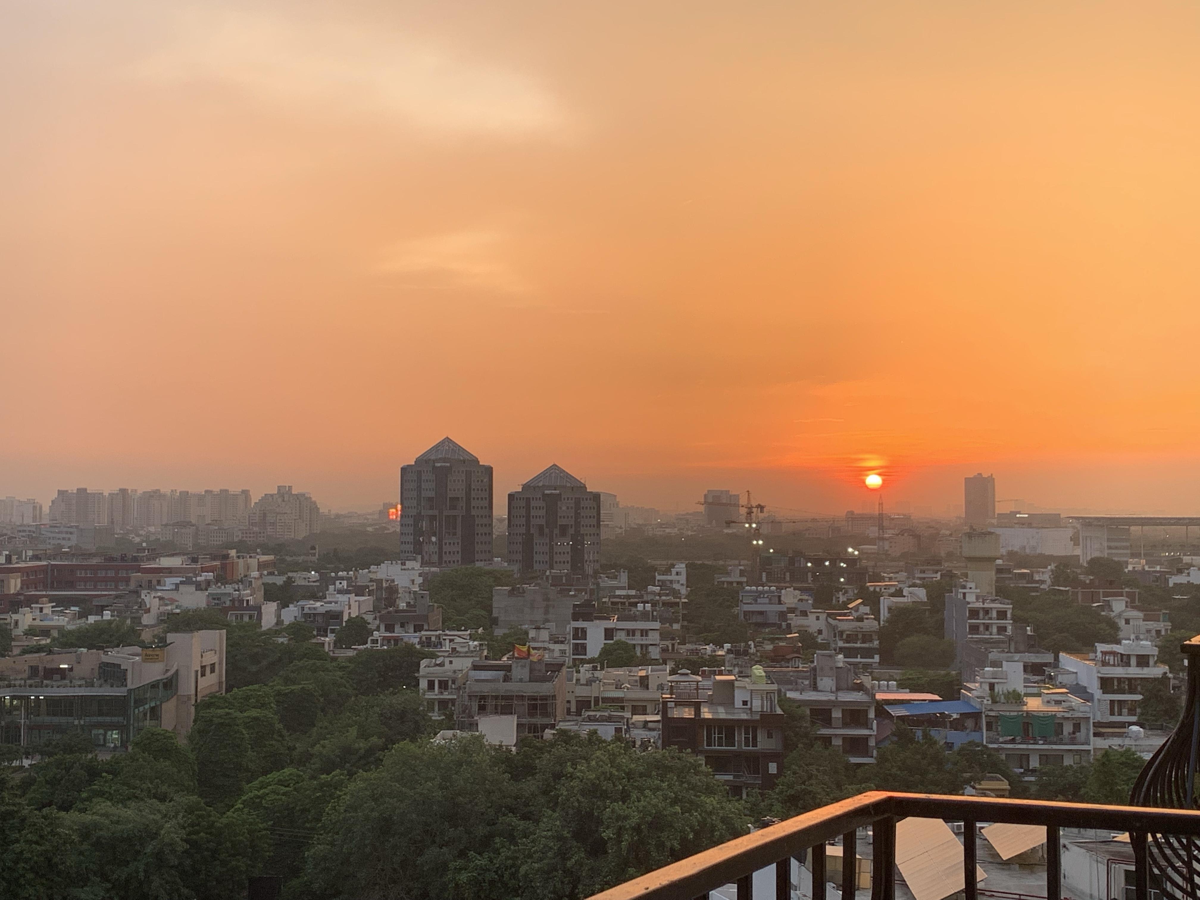 Reflected Sunset