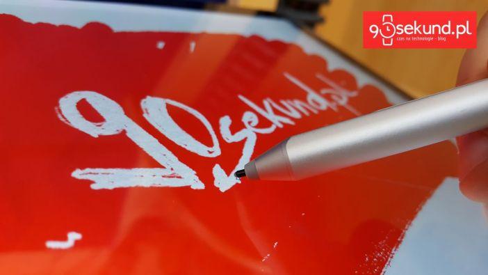 Microsoft Surface Pro 4 i rysik Surface Pen w akcji - 90sekund.pl