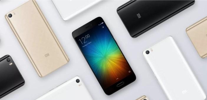 Xiaomi Mi5 - fot. mat. pras.