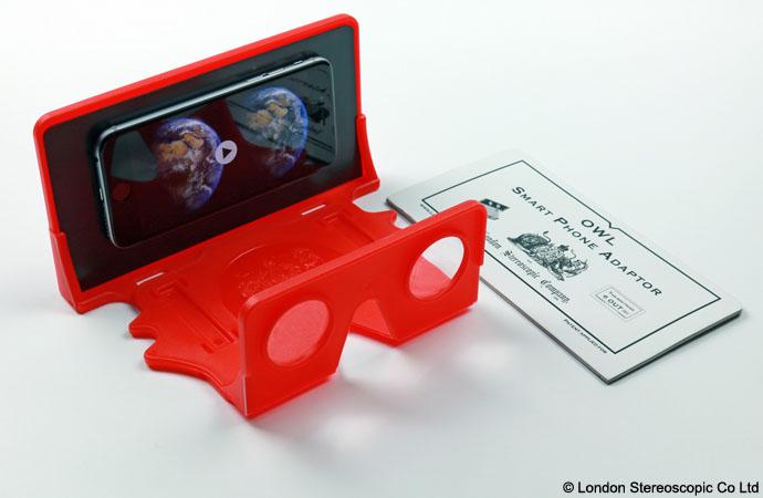 Owl - gogle wirtualnej rzeczywistości - mat. pras. Brian May