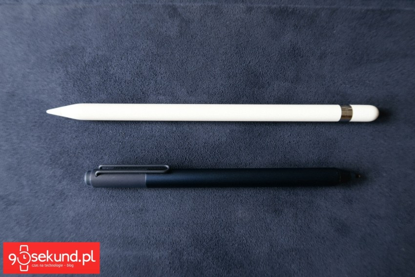 Rysik Apple Pencil do Apple iPad Pro 12,9 (2015) oraz rysik Microsoft Surface Pen do Microsoft Surface Pro 4 - 90sekund.pl