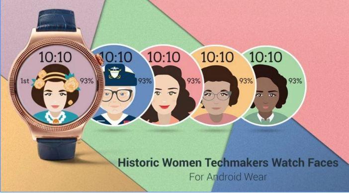 Historic Women Watch Faces