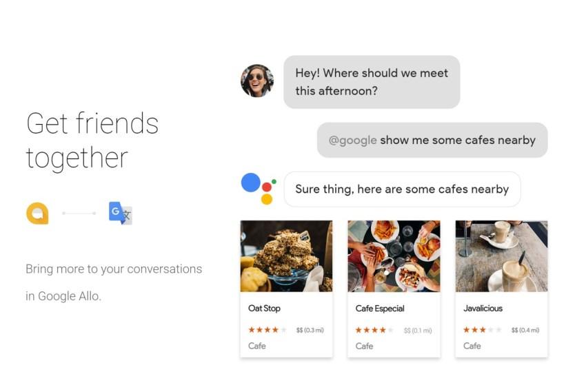 Przykład działania Google Assistant (Asystenta Google) - fot. Google