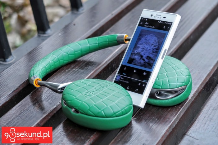 Sony Xperia X Compact i słuchawki Parrot Zik 3 - 90sekund.pl