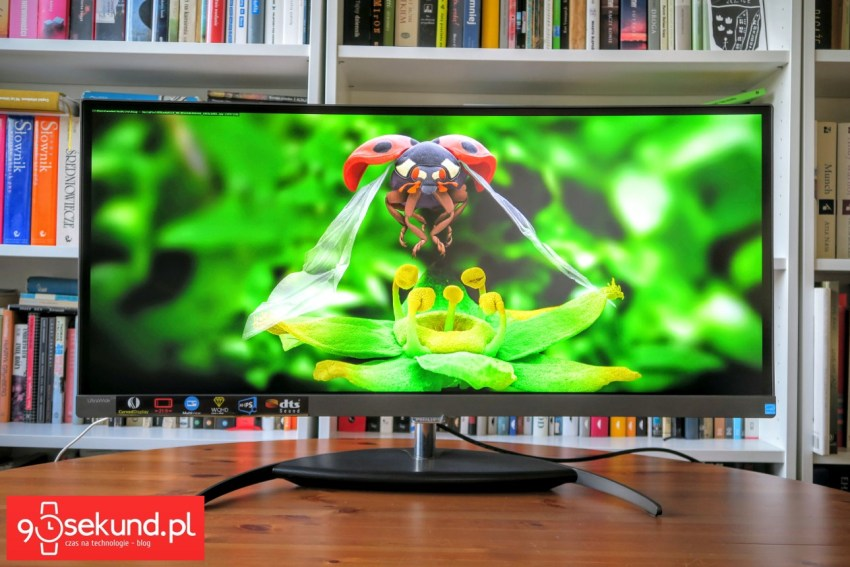 Recenzja monitora Philips Brilliance BDM3490UC - 90sekund.pl