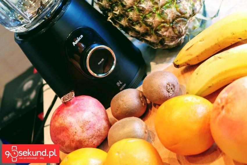 Owoce lubią się z blenderem Amica BTK 5011 IN - 90sekund.pl