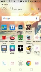 Ekran główny w LG X Power można modyfikować na różne sposoby - 90sekund.pl