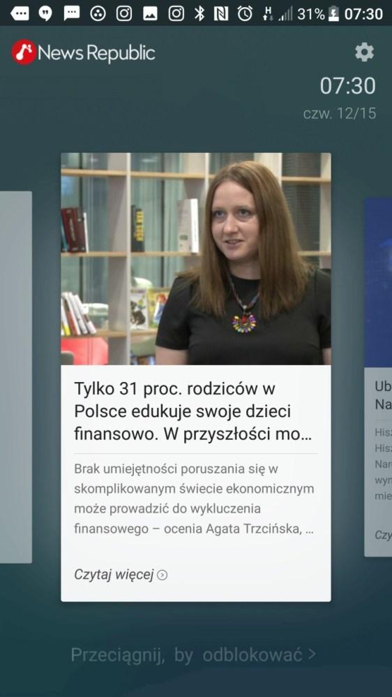 Blinkfeed - wybór źródeł informacji w HTC 10 evo - 90sekund.pl