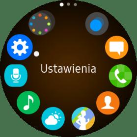 Wybrane punkty menu w Tizenie OS - 90sekund.pl