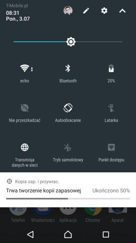Sony Xperia XZ Premium - wygląd i funkcje systemu - recenzja 90sekund.pl