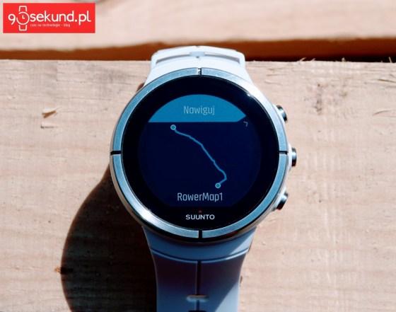 Recenzja zegarka multisportowego Suunto Spartan Ultra White HR - funkcje sportowo-nawigacyjne - 90sekund.pl