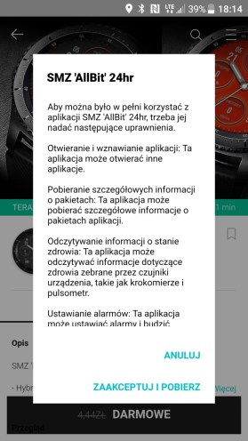 Sklep Galaxy Apps dla Geara S3 - 90sekund.pl