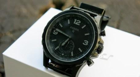 Test, recenzja, opinia – Hybrydowy Fossil Q Nate (FTW-1115) – zegarek mężczyzn kutych ze stali
