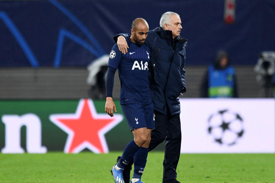 Sabitzer at the double as Spurs make exit