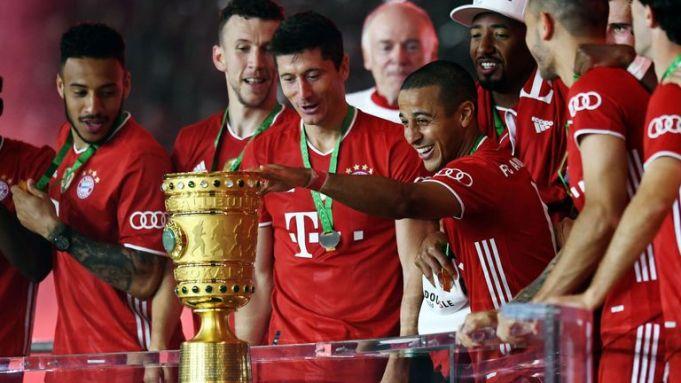 Bayern Munich dominated Bayer Leverkusen
