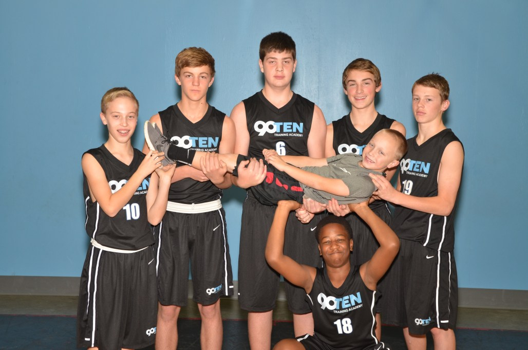 8th grade boys team with lucas