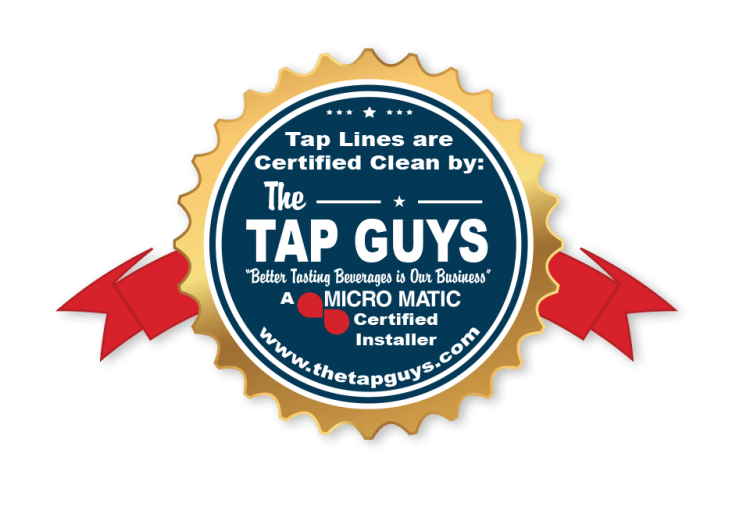 The Tap Guys _Certified Cleaning_Badge Logo 1_1
