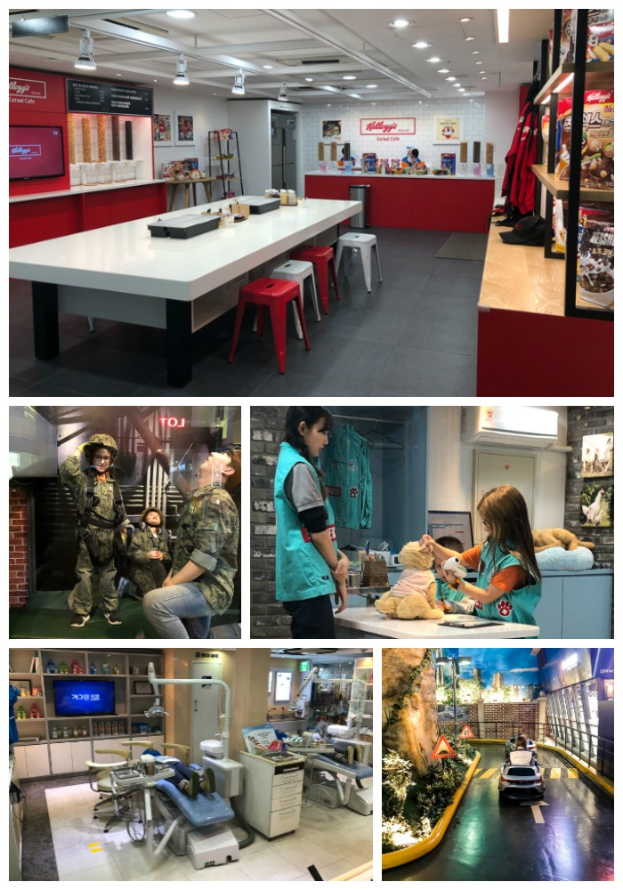 role play career opportunities at Kidzania